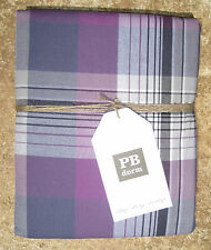 POTTERY BARN ~ PRESCOTT PLAID DUVET ~ IN ALL SIZES ~ BEDDING ~ PBTEEN ~