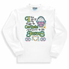 Christian SWEATSHIRT I Put All Of My Eggs In One Basket And Gave It To Jesus