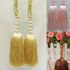 1 Piece Rope Cord Curtain Tassel Curtain Tie Curtain Hook Back Tiebacks