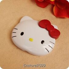 Cute Hello Kitty KT Head Two-sided Portable Practical Small Pocket Makeup Mirror