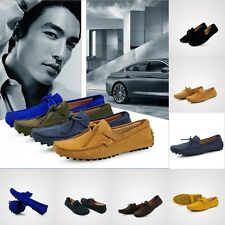 New men's lace-up loafer boat shoes breathable Moccasins casual shoes UK Sz 5-11