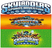 SKYLANDERS *SPYRO'S & GIANTS & SWAP FORCE* MAGIC ITEMS AND BONUS LEVELS