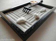 Zen garden in black solid wood giardinoz3n