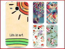 Hard Back Cover Case for Samsung Galaxy Core Plus G3500 & Free Screen Protector