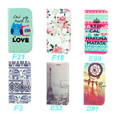 Wallet Cute Stand Leather Flip Case Cover Skin For LG G3 F400 D850 D855 + 2 Gift