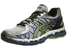 Asics Men's Gel-Kayano 20 - Lightning/Silver/Royal (T3N2N.9193)