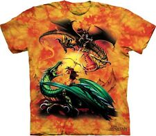 The Duel Kids T-Shirt from The Mountain. Dragon Boy Girl Child Sizes NEW