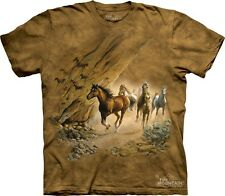Sacred Passage Kids T-Shirt from The Mountain. Horses Boy Girl Child Sizes NEW