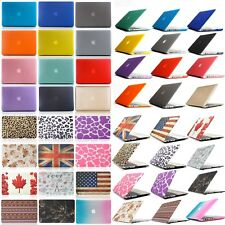 Hard Rubberized 13 Inch Laptop Case Cover For Macbook Air Pro Retina Multicolor