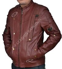 Men's German Black Naval Military Analine Cowhide Real Leather Jacket/Coat
