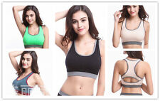 1PC New Women Racerback Sports Bra Padded Fitness Tank Top TK205-208
