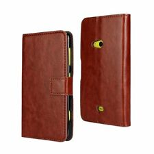Luxuxy Wallet Leather Flip Case Cover Pouch for Mobile Phone Nokia Lumia 625