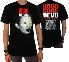 "Devo ""Hard Core Tour 2014"" Double Sided T-Shirt - FREE SHIPPING"