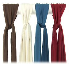 Scarf Organic Cotton & Non-GMO Soy Blend Blue Creme Chocolate Cherry