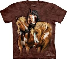 Find 8 Horses Kids T-Shirt from The Mountain. Hidden Boy Girl Child Sizes NEW