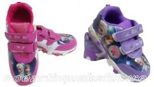 New Frozen Elsa Anna Cosplay Shoes Girls Kids Baby Sneakers Shoes UK9-13.5
