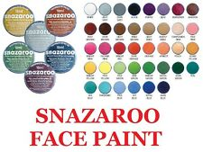 Snazaroo Face Paint Paints Painting Party Make-up- Classic Colours 18ml