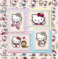 Hello Kitty Kitten Cat Picture Poster Print Bedroom Wall Decor gift  (Set C)