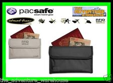 Pacsafe RFIDSafe 50 - Anti-Theft RFID Passport Protector Black or Grey