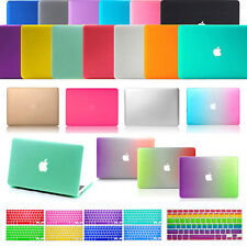"""Laptop Rubberized Cover Case Hard Shell for Apple Macbook Air/Pro 11"""" 13"""" 15"""""""