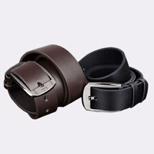 New Men Metal Buckle Leather Waistband Vintage Classic Pin Buckle Belts Vogue