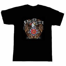Fire Ems Police T-shirt Firefighter Fireman Firemen Volunteer Fire Rescue Eagle