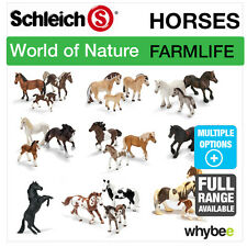 SCHLEICH WORLD OF NATURE FARM LIFE HORSES FIGURES ANIMAL TOYS & HORSE FIGURINES