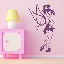 TINKERBELL FAIRY wall sticker graphic car decal giant stencil vinyl mural bn70