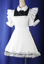 Sexy Maid Black Dress Alice in Wonderland Adult Costume Cosplay SZ S-6X SND 4165