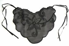 Braza Cami Lace Instant Camisole Insert w/ Bra Strap Ties Triangle Bib Cover Up