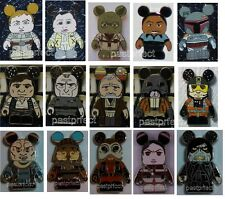 DISNEY PIN VINYLMATION STAR WARS w/ MYSTERY CHASERS COMPLETE YOUR SET Authentic
