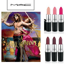 MAC A Novel Romance Collection Lipstick NIB 100% Authentic Chose Your Shade