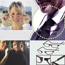 Unisex Anti-fatigue Fold Hanging Magnet Reading Glasses +1.5 +2.0 +2.5 +3.0 +3.5