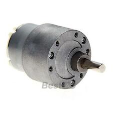 12V DC 30/60/120/200 RPM 37mm Powerful High Torque Gear Motor Speed Reduction