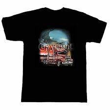 Occupation T-shirt Trucker Truck Driver Eagle