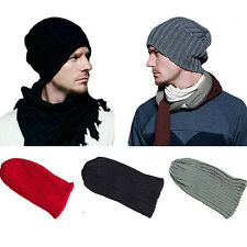 Unisex Cool Men's Women's Hip-Hop Warm Winter Wool Knit Ski Beanie Skull Cap Hat