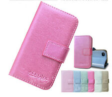 CSW Magnetic Flip Card Wallet Stand PU Leather Case Cover For Alcatel One Touch