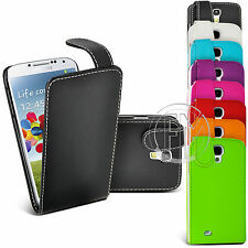 LEATHER CASE FLIP CASE COVER POUCH FOR SAMSUNG GALAXY S4 I9500
