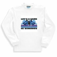 Sports Sweatshirt Life's A Game Cheerleading Is Serious Cheer Leading