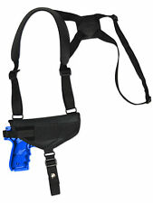 NEW Barsony Cross Harness Gun Shoulder Holster for Smith&Wesson Full Size 9mm 40