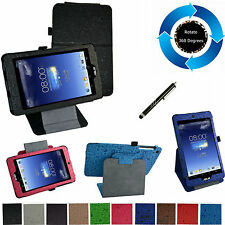 """For 8"""" ASUS MeMO Pad 8 ME181C Tablet PC 360° Rotating Stand Cute Case/Pen"""