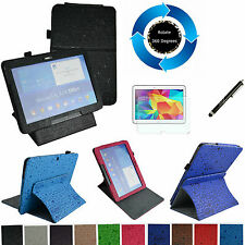 """For 10.1"""" Samsung Galaxy Tab 4 10.1 T530 360° Rotating Stand Cute Case/Pen/Film"""