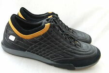 NEW CLARKS FLEXLIGHT PROLIFIC LACE  BLACK LEATHER CASUAL SHOES TRAINERS