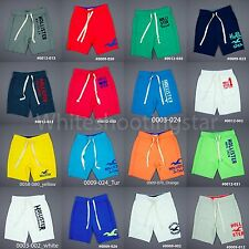 NWT HOLLISTER HCO MENS FLEECE GYM LOUNGE SWEAT PANTS SHORTS XS, S, M, L, XL