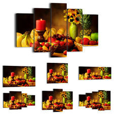FRAMED Canvas Print Picture 48Shapes Wall Art food kitchen fruits flower 0462 an