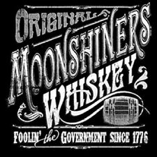 Original Moonshine Whiskey Foolin The Government  Accent Throw Pillow Man Cave