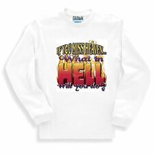 Christian SWEATSHIRT If you miss Heaven what in hell will you do