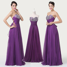 CHEAP Homecoming Evening Cocktail Bridesmaid Banquet Party Prom Maxi Dress 6 8++