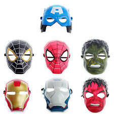 Super Hero Mask Masquerade Party Full Face Costume Halloween Fancy Dress Cosplay