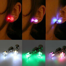 1 Pair Hot Selling Light Up LED Earrings Studs Dance Accessories For Party Xmas